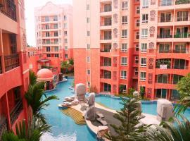 Seven Seas Resort Pattaya & Sofa bed, hotel in Jomtien Beach
