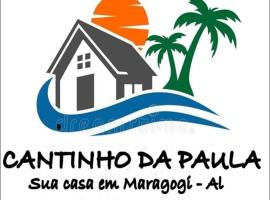 Cantinho da Paula, homestay in Maragogi