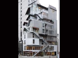 nine hours Asakusa, hotel a capsule a Tokyo