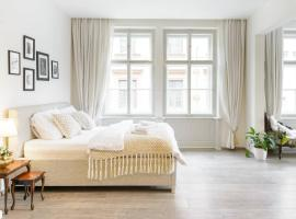Stylish, Light-Filled Home in the Historic Center, pet-friendly hotel in Prague