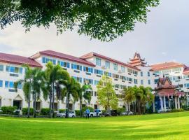 Mawlamyaing Strand Hotel, hotel in Mawlamyine