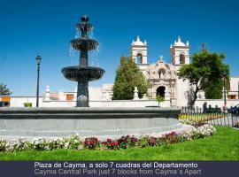 Cayma's Apart, self catering accommodation in Arequipa