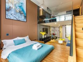 Lavendar Duplex Apartment, accessible hotel in Guangzhou
