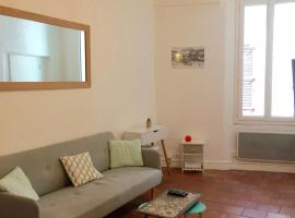 Chez Alex&Fanny, budget hotel in Antibes