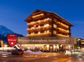 Hotel Walliserhof - The Dom Collection, hotel in Grächen