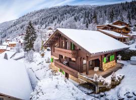 Le Hibou Blanc, hôtel à Montriond