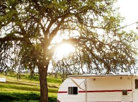 Rêves de Moutons, glamping site in Paso Robles