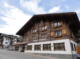 Hotel Steinbock, hotel in Grindelwald