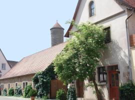 Kreuzerhof Hotel Garni, hotel in Rothenburg ob der Tauber