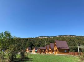 Dve Reki Holiday Park, hotel near Savran Gondola Lift, Dakhovskaya