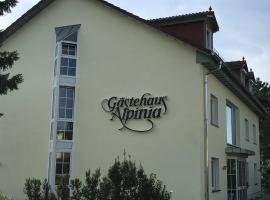 Gästehaus Alpinia, pet-friendly hotel in Berlin