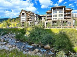 Ski In Ski Out Luxury Condo #4475 - Free Activities Daily & WiFi, Pool Sized Hot Tub, hotel in Winter Park
