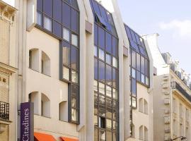Citadines Trocadéro Paris, apart-hotel em Paris
