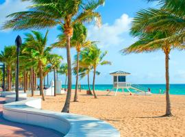 Tropical Oasis Condos, beach hotel in Fort Lauderdale