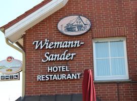 Gasthaus Wiemann-Sander, hotel in Bad Iburg