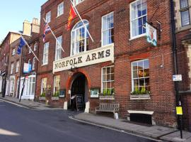 Norfolk Arms Hotel, hotel in Arundel