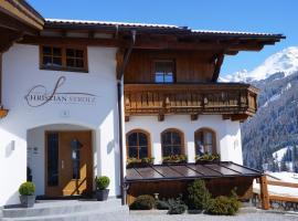 Pension Strolz, pet-friendly hotel in Sankt Anton am Arlberg