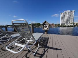 Holiday Isle Yacht Club、フォート・ローダーデールのホテル