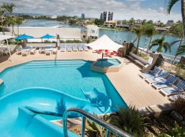 Tiki Hotel Apartments Surfers Paradise, hotel in Gold Coast