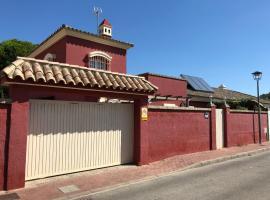 Fabuloso chalet de Playa con Wifi y Parking, hotel cerca de Playa de La Puntilla, Vista Hermosa