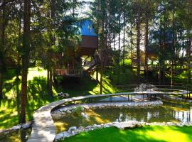 Plitvice Holiday Resort, hotel v Grabovaci
