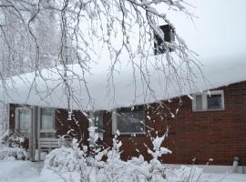 House Olkka by the river, loma-asunto Rovaniemellä