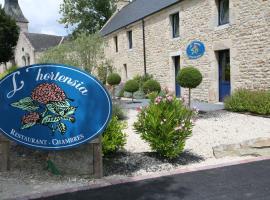 Hôtel - Restaurant l'Hortensia, hotel in Noyalo