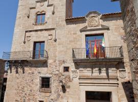 Parador de Caceres, отель в городе Касерес
