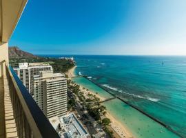 Aston Waikiki Beach Tower, apartment in Honolulu