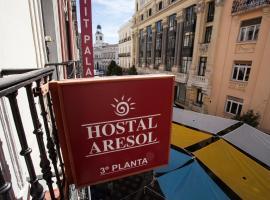 Hostal Aresol, habitación en casa particular en Madrid