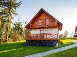 Domki na Beskidzie 1861 – hotel w pobliżu miejsca Szus Ski Lift w Istebnej