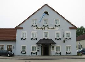 Hotel Neuwirt --Open Restaurant--, hotel in zona Aeroporto di Monaco di Baviera - MUC, Hallbergmoos