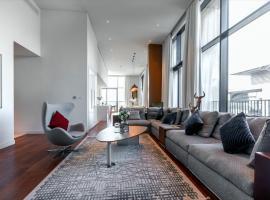 FAM Living Penthouse - City Walk Mall, hôtel à bas prix à Dubaï