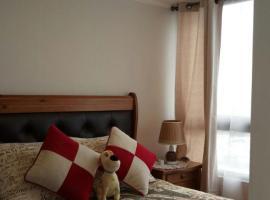 Apartamento amoblado maravilloso2, hotel en Santiago