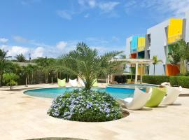 Isla Bonita Tropical 107, appartement in Palm-Eagle Beach