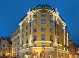 Grand Hotel Bohemia, hotel near Týn Cathedral, Prague