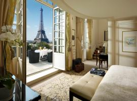 Shangri-La Hotel, Paris, hotel near Arc de Triomphe, Paris