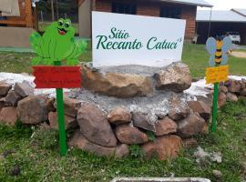 Sitio Recanto Catuci, hotel near Cascata do Caracol, Gramado