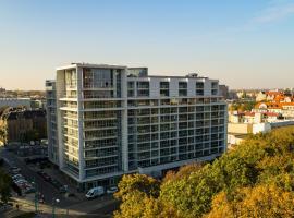 Poznań Apartments Towarowa, accessible hotel in Poznań