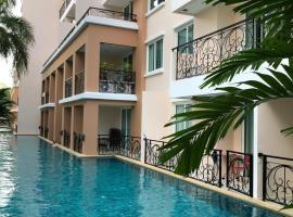 Paradise Park Apartments Luxe อพาร์ตเมนต์ในหาดจอมเทียน