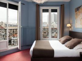 Hôtel Odessa Montparnasse, hotel near Notre-Dame-des-Champs Metro Station, Paris