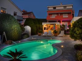 La Perla 1, hotel with pools in Punat