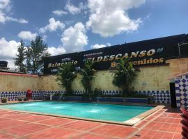 HOTEL Y BALNEARIO EL DESCANSO, hotel en Villavicencio