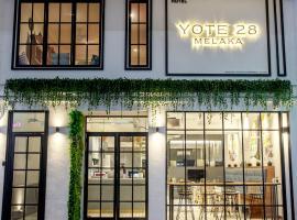 Yote 28, hotel near Jonker Street, Malacca