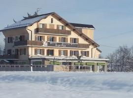 Hôtel Restaurant Le Gai Pinson, hotel in Les Rousses