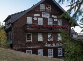 Berggasthof Zum Wilddieb, hotel near Oberer Wilddieblift, Willingen