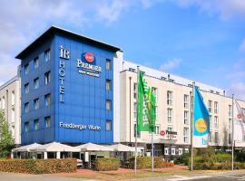 Best Western Premier IB Hotel Friedberger Warte, hotel v Frankfurtu nad Mohanem