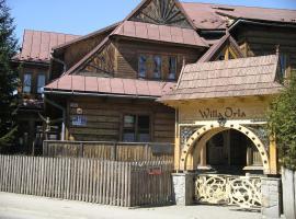 Willa Orla – obiekt B&B w Zakopanem