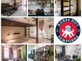 Kuree Hut, family hotel in Semporna