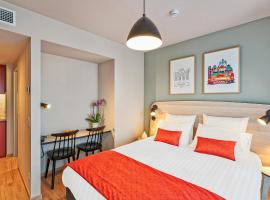 Appart'City Confort Bruxelles Centre Midi, self-catering accommodation in Brussels